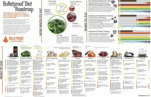 Bulletproff Diet Roadmap poster