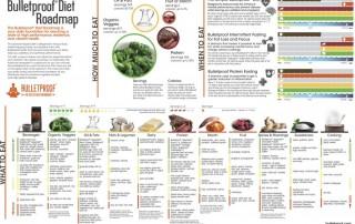 Bulletproff Diet Roadmap poster